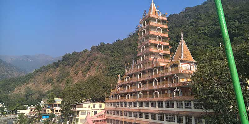 Viagem até à formação de Yoga em Rishikesh na India